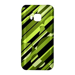 Green pattern HTC One M9 Hardshell Case