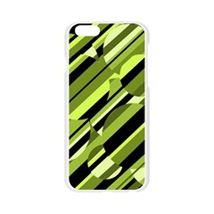 Green pattern Apple Seamless iPhone 6/6S Case (Transparent)
