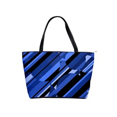 Blue pattern Shoulder Handbags