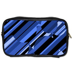 Blue pattern Toiletries Bags