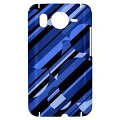 Blue pattern HTC Desire HD Hardshell Case