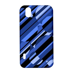 Blue pattern LG Optimus P970