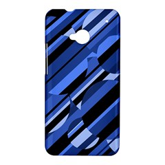 Blue pattern HTC One M7 Hardshell Case