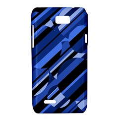 Blue pattern Motorola XT788