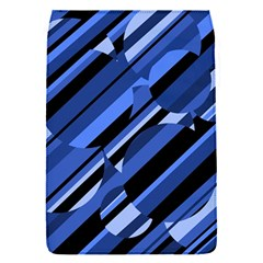 Blue pattern Flap Covers (S)
