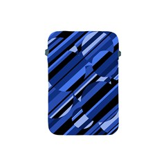 Blue pattern Apple iPad Mini Protective Soft Cases