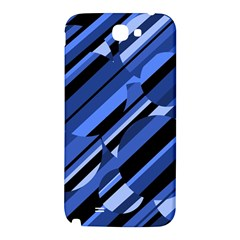 Blue pattern Samsung Note 2 N7100 Hardshell Back Case