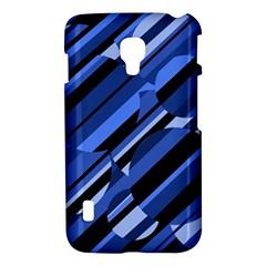 Blue pattern LG Optimus L7 II