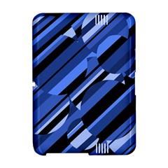 Blue pattern Amazon Kindle Fire (2012) Hardshell Case