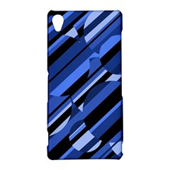 Blue pattern Sony Xperia Z3