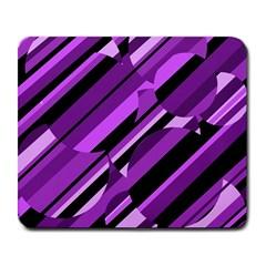 Purple pattern Large Mousepads