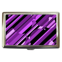 Purple pattern Cigarette Money Cases