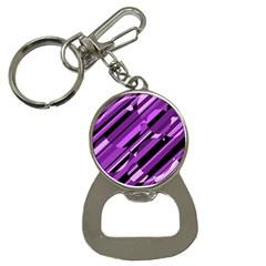 Purple pattern Bottle Opener Key Chains