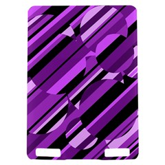 Purple pattern Kindle Touch 3G