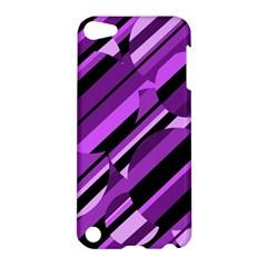 Purple pattern Apple iPod Touch 5 Hardshell Case