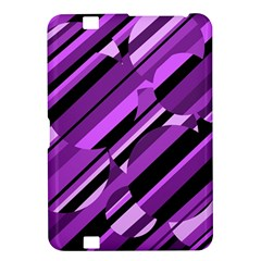 Purple pattern Kindle Fire HD 8.9