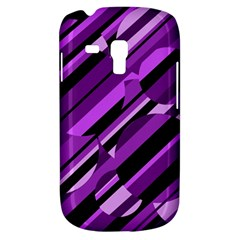 Purple pattern Samsung Galaxy S3 MINI I8190 Hardshell Case