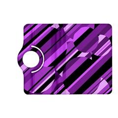 Purple pattern Kindle Fire HD (2013) Flip 360 Case