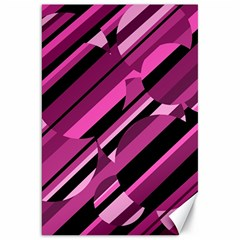 Magenta pattern Canvas 20  x 30