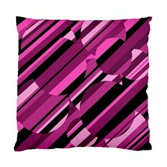 Magenta pattern Standard Cushion Case (Two Sides)