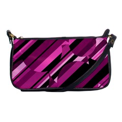 Magenta pattern Shoulder Clutch Bags