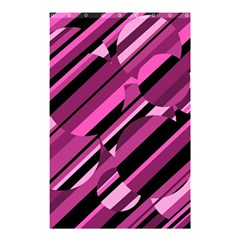 Magenta pattern Shower Curtain 48  x 72  (Small)