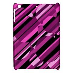 Magenta pattern Apple iPad Mini Hardshell Case
