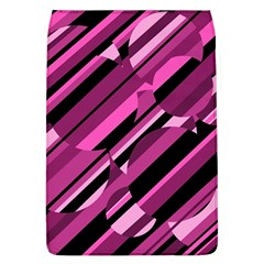Magenta pattern Flap Covers (L)