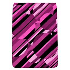 Magenta pattern Flap Covers (S)