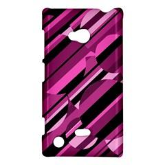 Magenta pattern Nokia Lumia 720