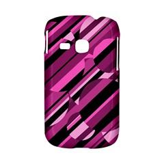 Magenta pattern Samsung Galaxy S6310 Hardshell Case