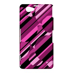 Magenta pattern Sony Xperia Z1 Compact