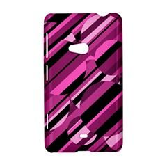 Magenta pattern Nokia Lumia 625
