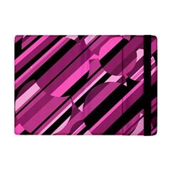 Magenta pattern iPad Mini 2 Flip Cases