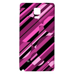 Magenta pattern Galaxy Note 4 Back Case