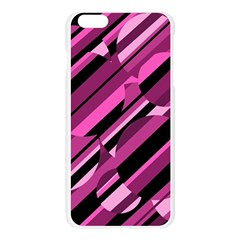 Magenta pattern Apple Seamless iPhone 6 Plus/6S Plus Case (Transparent)