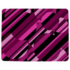 Magenta Pattern Jigsaw Puzzle Photo Stand (rectangular)