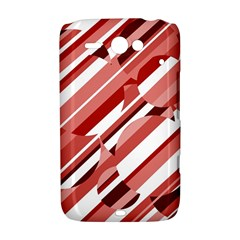 Orange pattern HTC ChaCha / HTC Status Hardshell Case