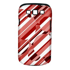 Orange pattern Samsung Galaxy S III Classic Hardshell Case (PC+Silicone)