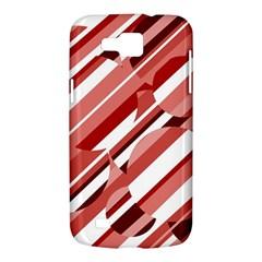 Orange pattern Samsung Galaxy Premier I9260 Hardshell Case