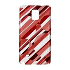 Orange pattern Samsung Galaxy Note 4 Hardshell Case