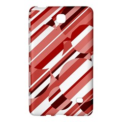 Orange pattern Samsung Galaxy Tab 4 (8 ) Hardshell Case