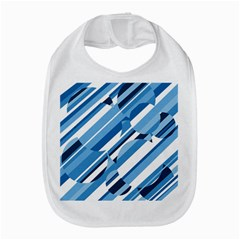 Blue pattern Bib