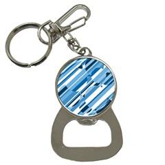 Blue pattern Bottle Opener Key Chains