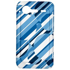 Blue pattern HTC Incredible S Hardshell Case