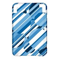 Blue pattern Kindle 3 Keyboard 3G