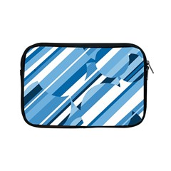Blue pattern Apple iPad Mini Zipper Cases