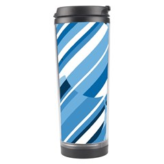 Blue pattern Travel Tumbler