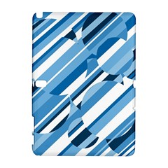 Blue pattern Samsung Galaxy Note 10.1 (P600) Hardshell Case
