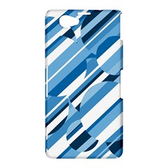 Blue pattern Sony Xperia Z1 Compact
